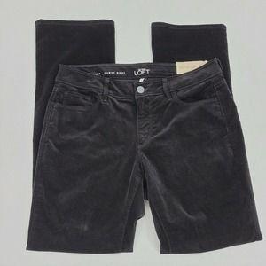 Loft Curvy Boot Cut Corduroy Pants 10 Petite NWT